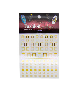 Magnetic Fashion Sticker Square