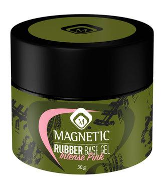 Magnetic Nail Design Pot Rubber Base Intense Pink 30 gr.