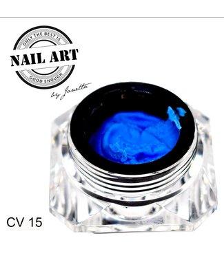 Urban Nails Carving Gel 15  Kobalt Blauw 7 gr.