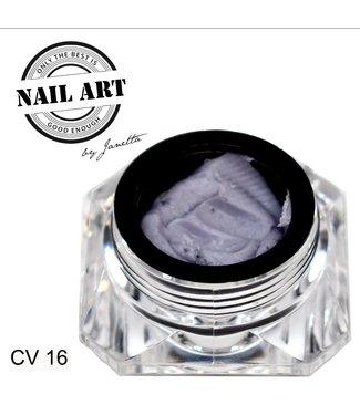 Urban Nails Carving Gel 16 Grijs 7 gr.