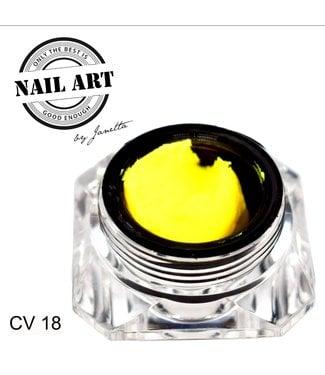 Urban Nails Carving Gel 18 Fel Geel 7 gr.