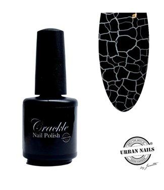 Urban Nails Crackle Nail Polish 02 Zwart
