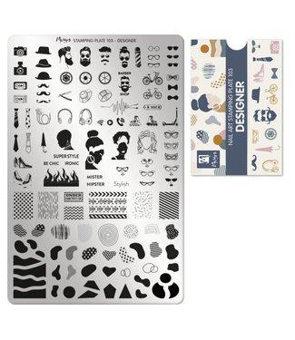 Moyra Stempelplaat 103 Designer