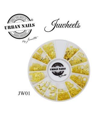 Urban Nails Juwheel 01 Goud