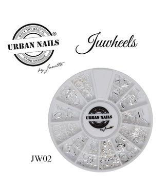 Urban Nails Juwheel 02 Zilver