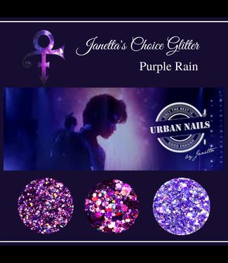 Urban Nails Janetta's Choice Glitter Purple Rain