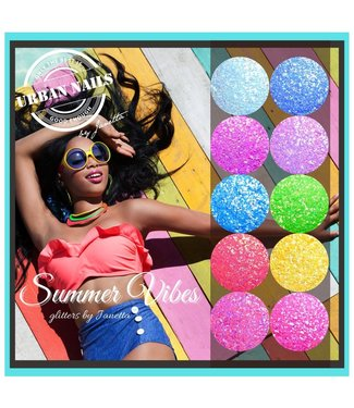 Urban Nails Summer Vibes by Janetta Glitter