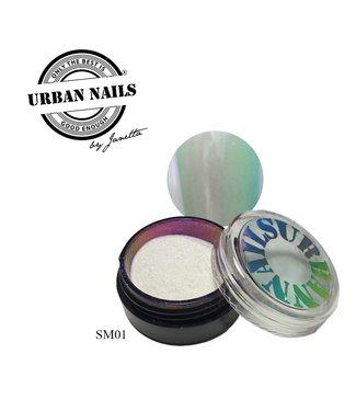 Urban Nails Super Mirror Pigment 01