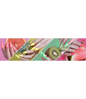 Magnetic Set Juicy Fruits Gelpolishes, 4 stuks