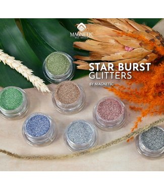 Magnetic Set Starburst Glitters 7 st.