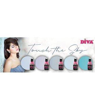 Diva Set Gellak Touch The Sky 5 st.