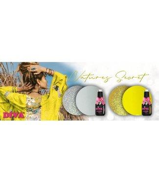 Diva Set Gellak Natures Secret + gratis Pigment