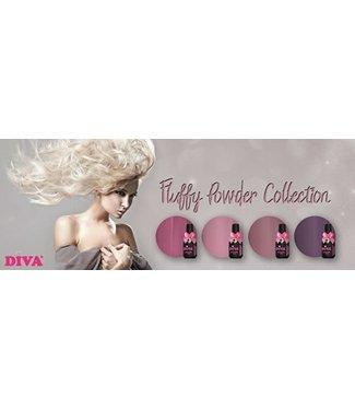 Diva Set Gellak Fluffy Powder 4 st.