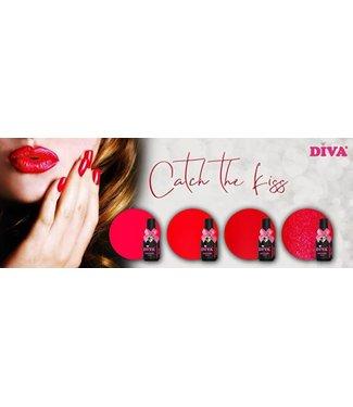Diva Set Gellak Catch the Kiss 4 st.
