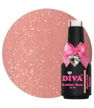 Diva Rubber Base Blush Pink Luxury 15 ml.