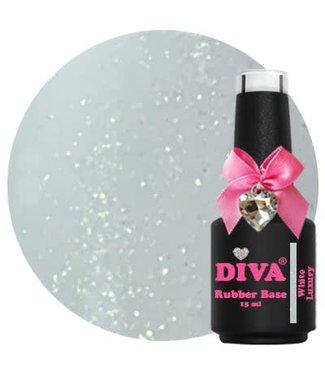 Diva Rubber Base White Luxury 15 ml.