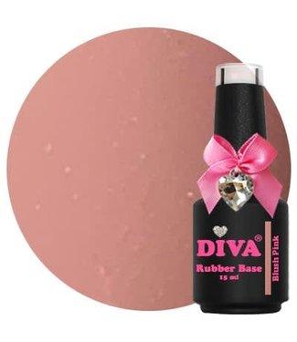 Diva Rubber Base Blush Pink  15 ml.