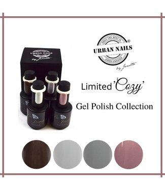 Urban Nails Cozy Gelpolish Collectie 4 st.