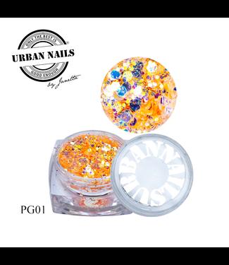 Urban Nails PiXie Glitter 01
