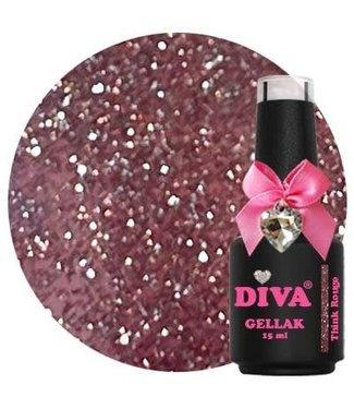 Diva 231 Gellak Think Rouge 15 ml.