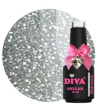 Diva 229 Gellak Think Crystal 15 ml.