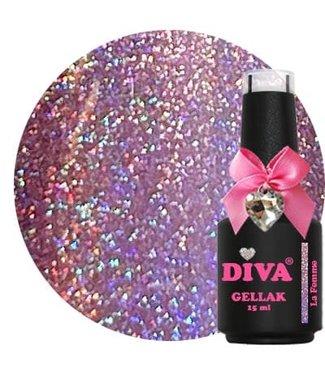 Diva 132 Gellak Holo La Femme 15 ml.