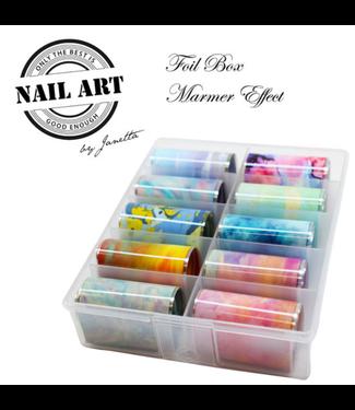 Urban Nails Foil Box Marmer Effect