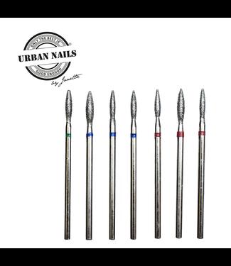 Urban Nails Manicure Set Silver, 7 bits