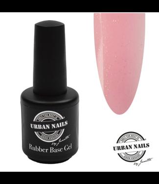 Urban Nails Rubber Base Gel Baby Pink Gold