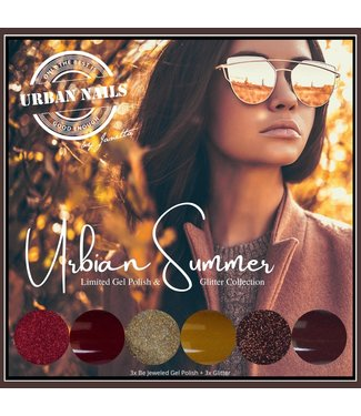 Urban Nails Urbian Summer Gelpolish & Glitter Collection