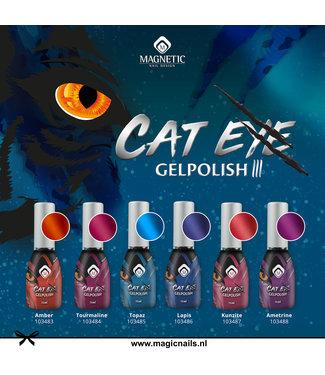 Magnetic Set Cat Eye III Gelpolish 6 stuks