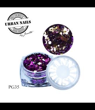 Urban Nails PiXie Glitter 35