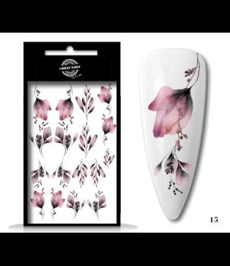 Urban Nails Waterdecals Flower Garden / Nail Tattoo 15