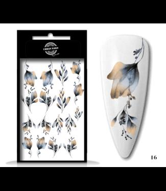 Urban Nails Waterdecals Flower Garden / Nail Tattoo 16