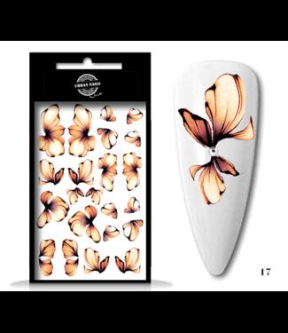 Urban Nails Waterdecals Flower Garden / Nail Tattoo 17