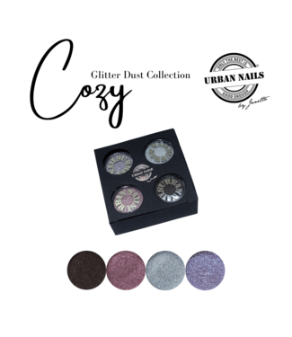 Urban Nails Cozy Glitter Dust Collection