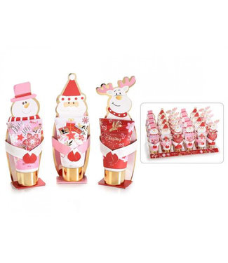 Handcrème Kerst roze/rood