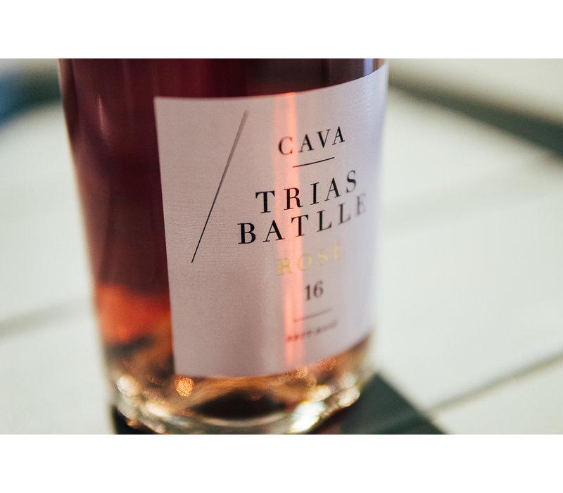 Cava Brut Rosé Trias Batlle