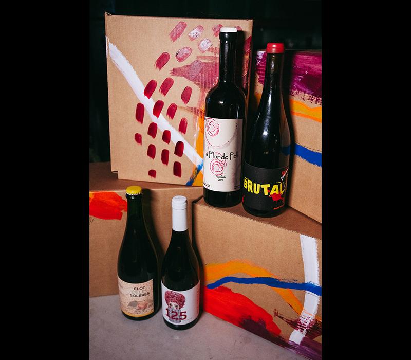 Funky Wine Box