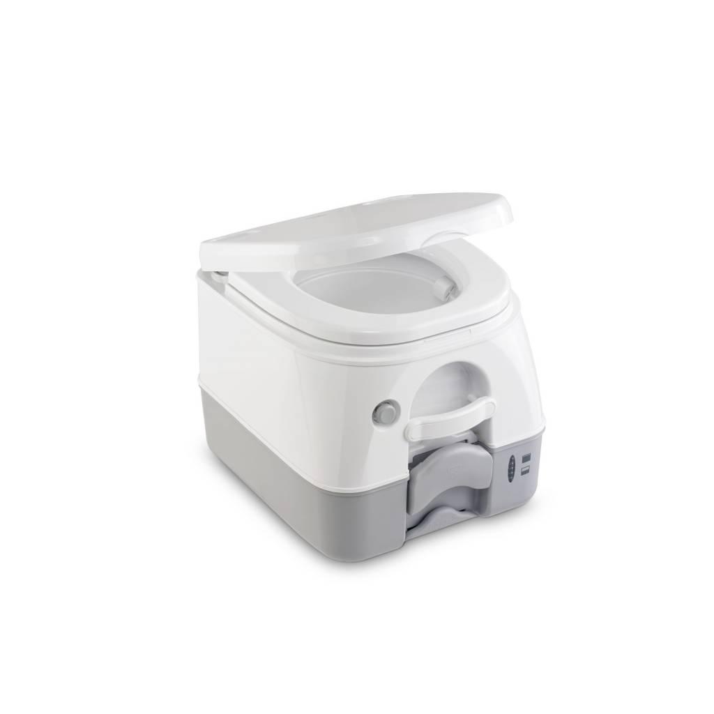 Dometic Dometic 972 Portable Toilette, Weiß und Grau