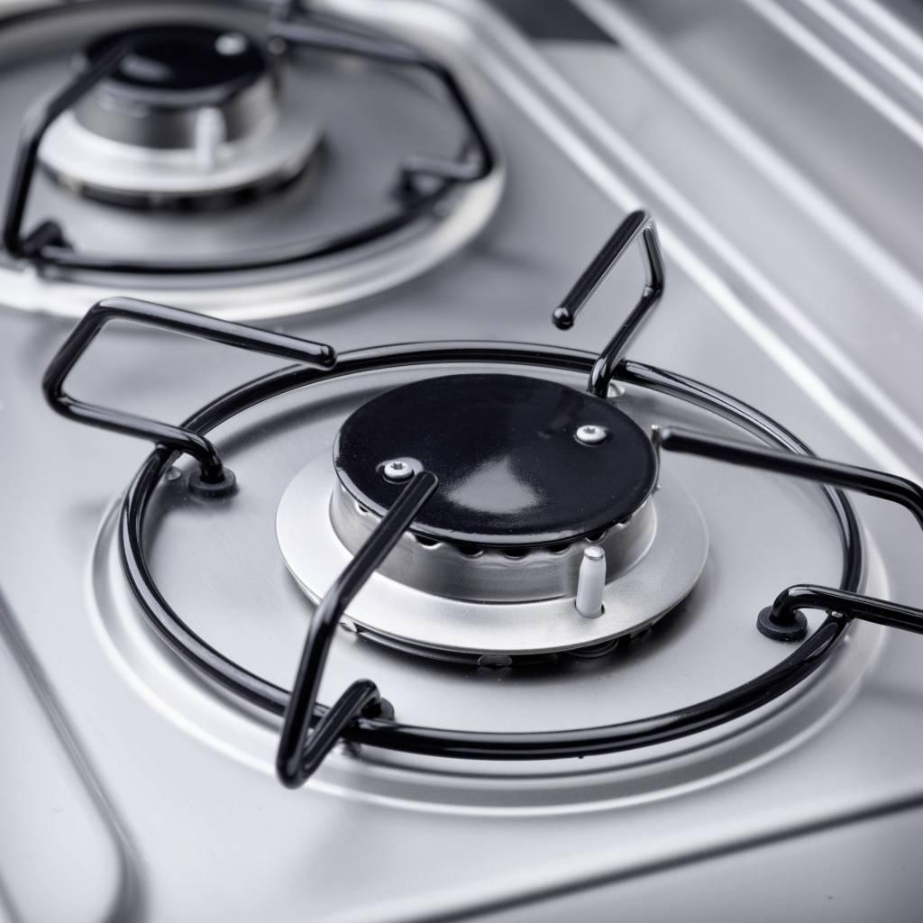 Dometic Dometic MO 9722R Kombination aus 2-flammigem Kochfeld und Spüle mit Glasdeckel, 760 x 325 mm