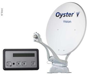 Oyster (Ten Haaft) Digital Sat-Antenne Oyster V Vision 85 TWIN Skew