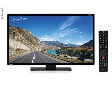 Oyster (Ten Haaft) 12V Fernseher Oyster® TV 24' mit DVB-T2/DVB-S2 Tuner Camping-Fernseher mit HD-Tuner