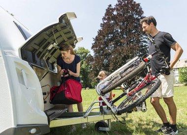 Fahrradträger für Wohnwagen