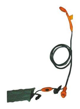 Camp4 Outdoor-Dusche 12V mit Tauchpumpe+Schalter Transportable Dusche mit 12 Volt Pumpe