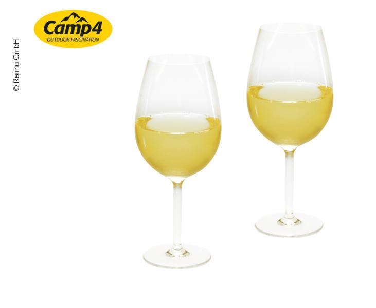 Camp4 Gläser- Serie Provence aus hochwertigem Polycarbonat