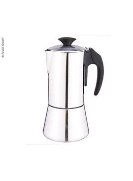 Camp4 Espressokocher Bienno DeLuxe, Edelstahl, 6 Tassen