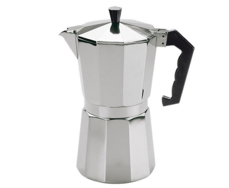 Camp4 Kaffeebereiter, Espressokocher für 6 Tassen