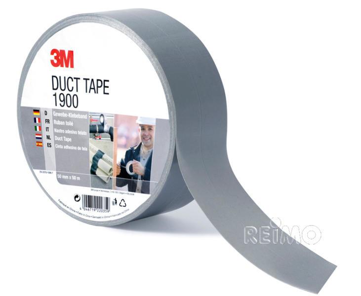 3M 3M Gewebeklebeband 50m x 50mm silber