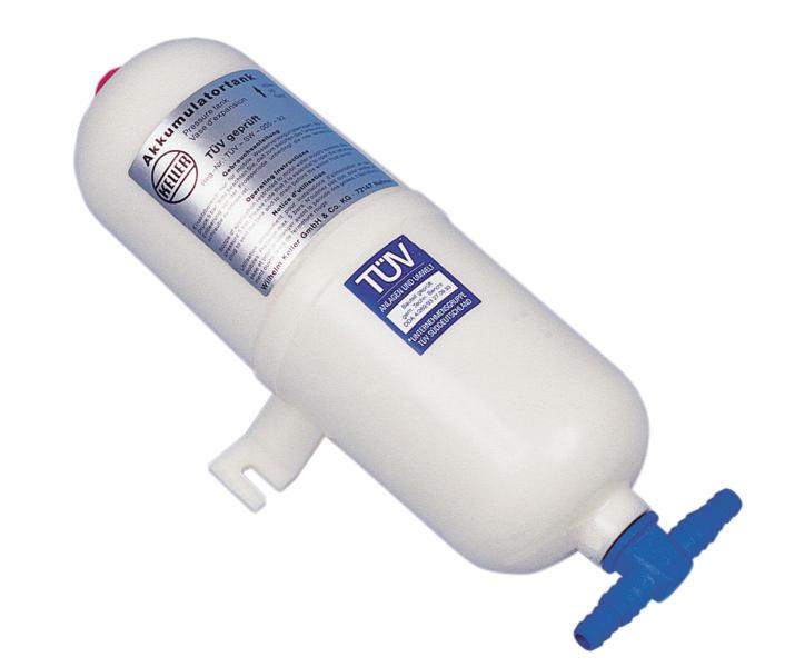 Druckausgleichsgefäß Kunststoff